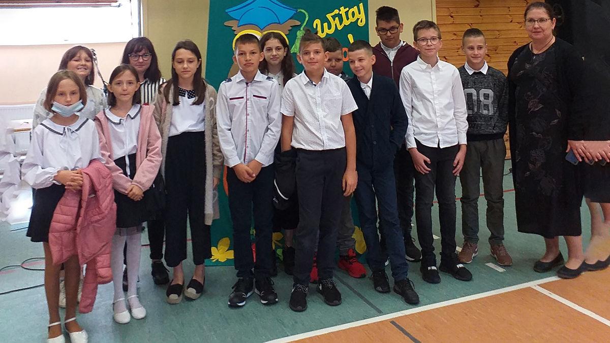 Rozpoczęcie roku szkolnego SP w Bisztynku