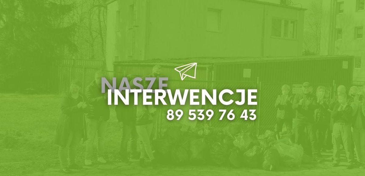 Interwencje GO, interwencje, gazeta olsztyńska