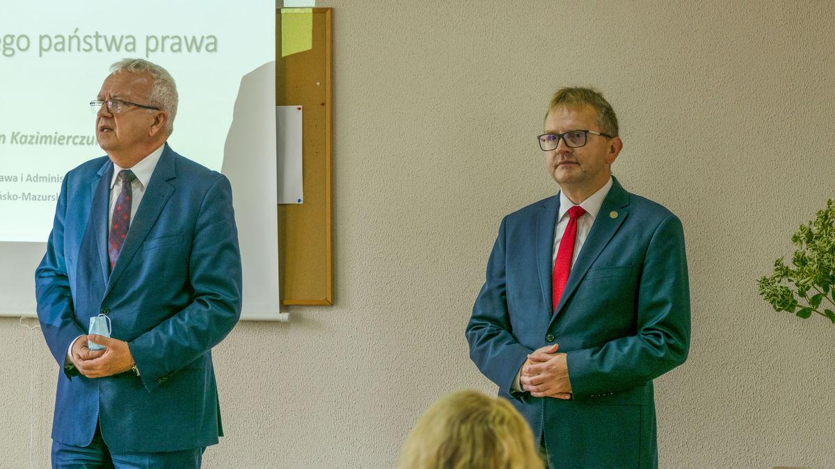 Krzysztof Marek Nowacki oraz dr Marcin Kazimierczuk