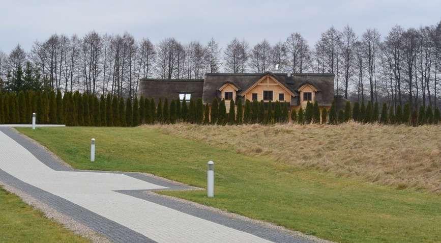Dom Anny i Roberta Lewandowskich w Stanclewie
