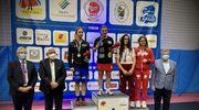 Sandra Kruk na najwyższym podium