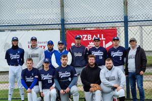 Mimo zimna, baseballowa inauguracja sezonu w Działdowie udana dla Yankeesów