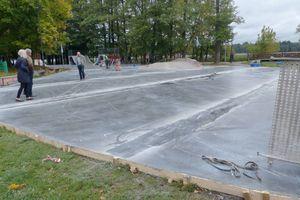 Trwa przebudowa skateparku