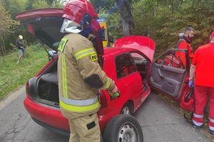 Kierowca trafił do szpitala