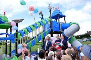 Otwarcie placu zabaw w Przedszkolu Miejskim w Lidzbarku