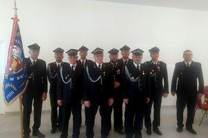 Zebranie Ochotniczej Straży Pożarnej w Bryńsku.