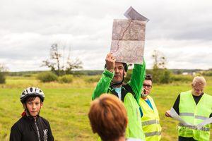 Wycieczka rowerowa z Lubawskim Stowarzyszeniem Inicjatyw Społecznych