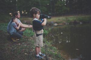 Nawet z dzieckiem nie pójdziesz na ryby?
