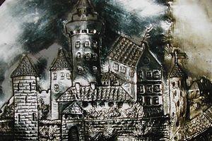 Jak wyglądał zamek w Bratianie?