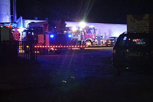 Rybno: potężny wybuch w fabryce. 37-letni operator maszyny w ciężkim stanie trafił do szpitala w Działdowie