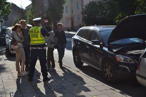 Potrącenie pieszej w Olsztynie. Kobieta tłumaczy: