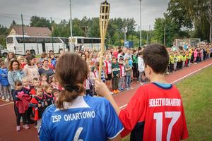 Sportowa inauguracja w Okartowie