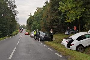 Kolejne niebezpieczne zdarzenie na drodze. Tym razem na DK 51 1 (odcinek Stary Dwór – Dobre Miasto)