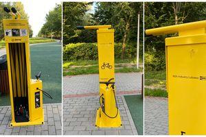 Samoobsługowe stacje naprawy rowerów w Lubawie