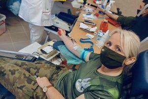 Żołnierze oddali krew