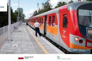 Atrakcyjne podróże koleją  z nowych przystanków w Olsztynie do szkoły i pracy