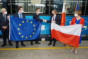Ten pociąg łączy Europę