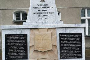 Zaproszenie na odsłonięcie odrestaurowanego pomnika