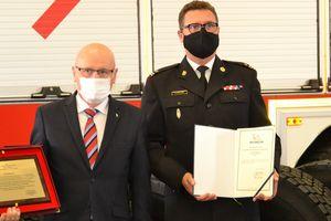 Strażacy z Olsztyna dostali od Michelin nowe opony do wozów