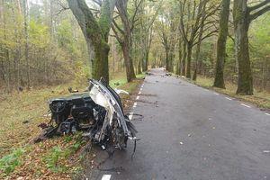 Śmiertelny wypadek. Kierowca audi jechał za szybko?