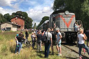 Pociąg w Lubawie