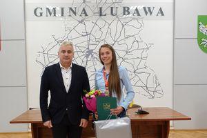 Wójt pogratulował Monice Jackiewicz