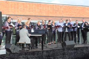 Koncert na Zamku w Lubawie