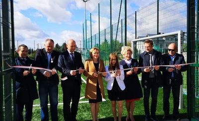 Nowy kompleks sportowy otwarty