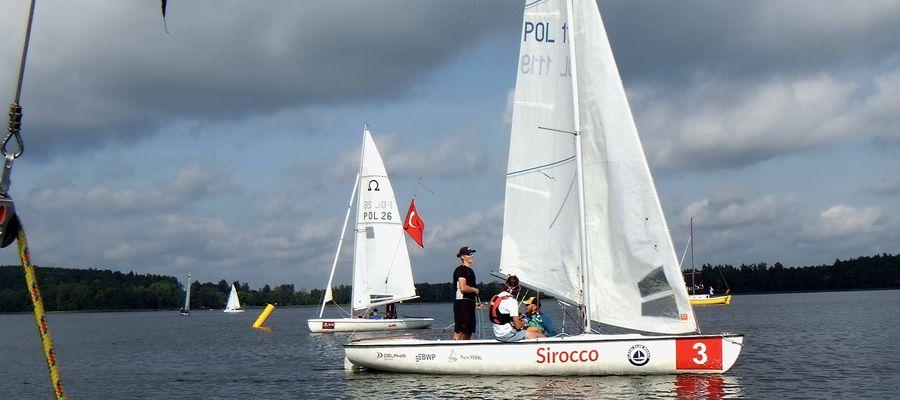 Regaty żeglarskie w Olecku