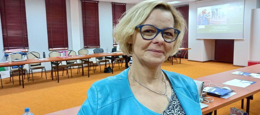 Bożena Giedziuszewicz, dyrektor PORE w Giżycku