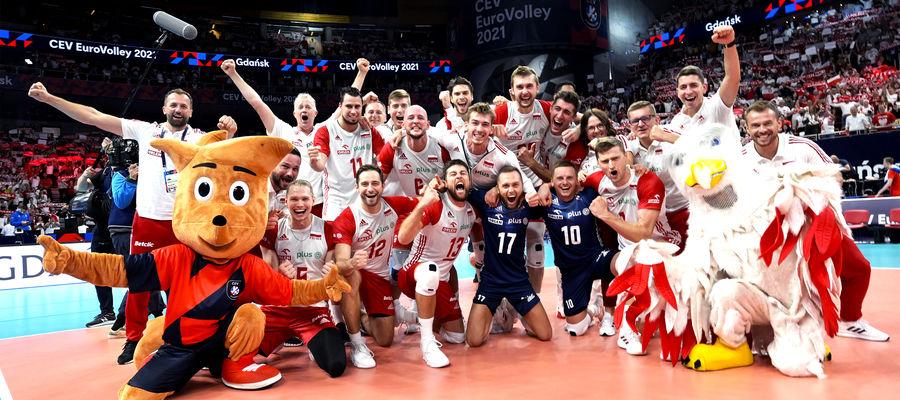 Jest się z czego cieszyć - polscy siatkarze rozegrali świetny mecz i awansowali do półfinału mistrzostw Europy