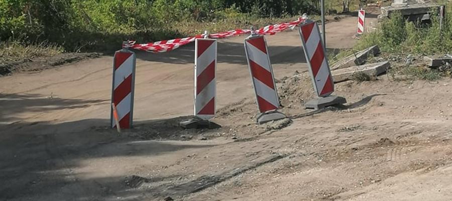 Przebudowa drogi zablokuje dojazd do sklepu