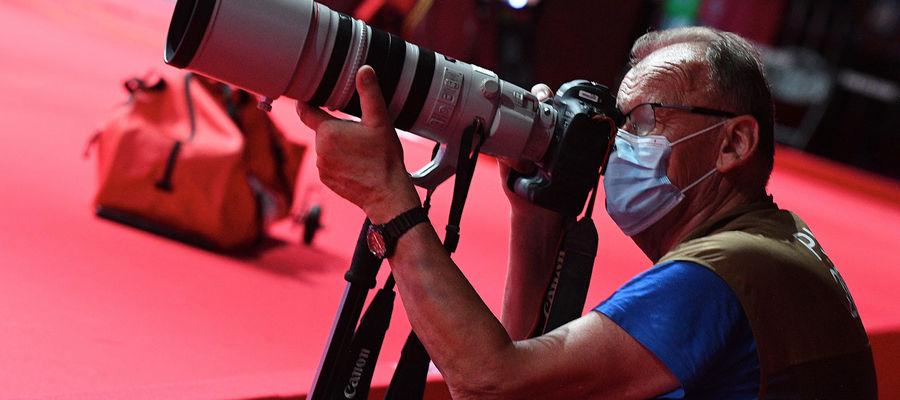 Jarosław Pastuła z Bartoszyc fotografował wyczyny sportowców w Tokio