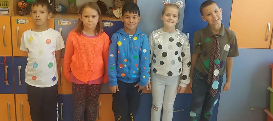 Międzynarodowy Dzień Kropki w SP w Dzietrzychowie