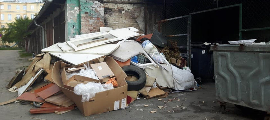 Kto wyrzuca tu tyle śmieci?