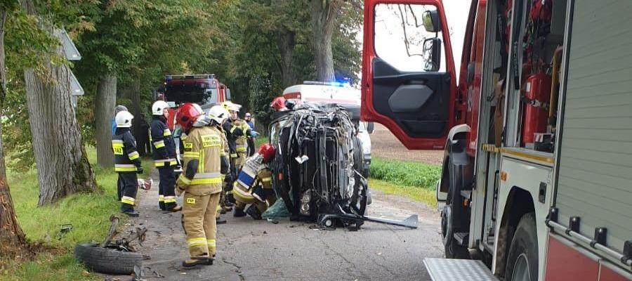 Kobieta i dziecko ranne w wypadku