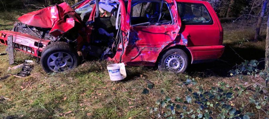 Śmiertelny wypadek w pobliżu Zawad