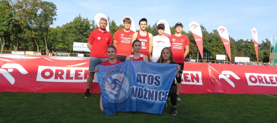 Ekipa Atosa Woźnice przywiozła łącznie 5 medali