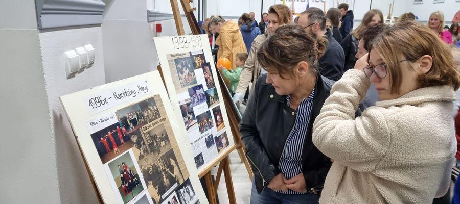 Imprezie towarzyszyła wystawa pamiątek cyrku Heca z Lipinek
