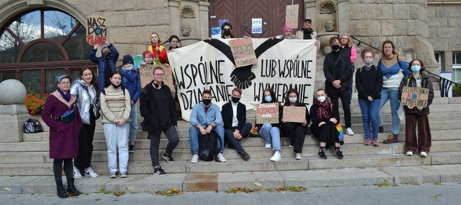 Młodzież z Olsztyna walczy o klimat [ZDJĘCIA]