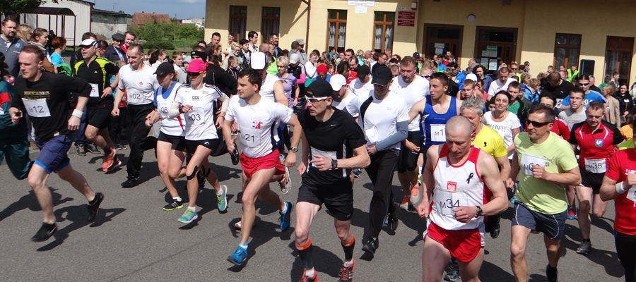 Archiwalne zdjęcie z jednego z półmaratonów w Biskupcu