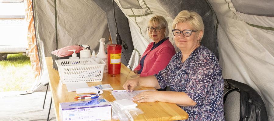 Akcję szczepień koordynuje Małgorzata Jadczak, dyr. ds. pielęgniarstwa bartoszyckiego szpitala