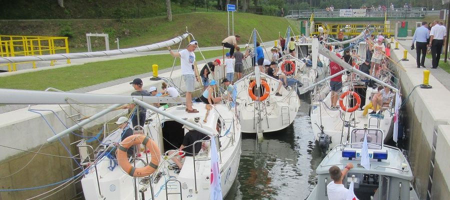 Do tej pory przez śluzę Guzianka II przeprawiło się ponad 12 tysięcy jednostek pływających