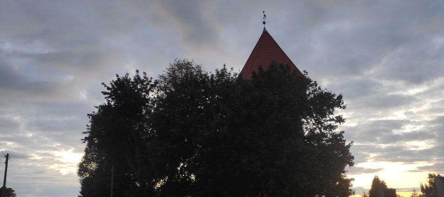 Wieczorne niebo nad Kwietniewem