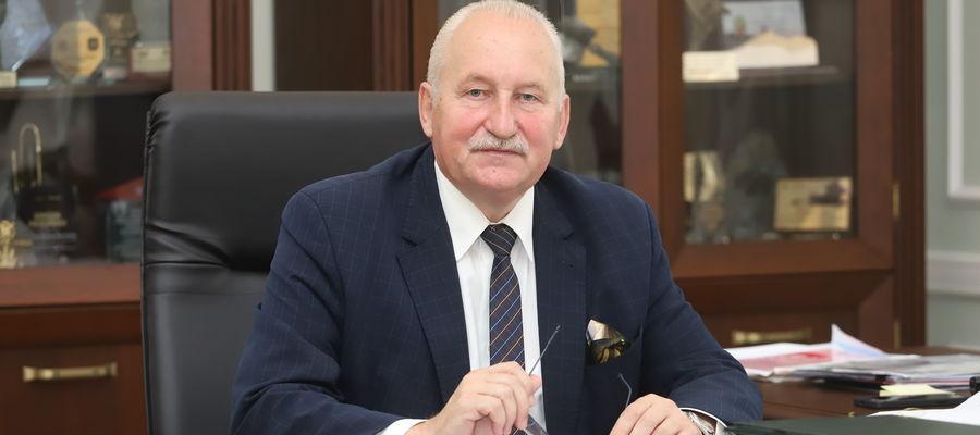 Marszałek województwa warmińsko-mazurskiego Gustaw Marek Brzezin