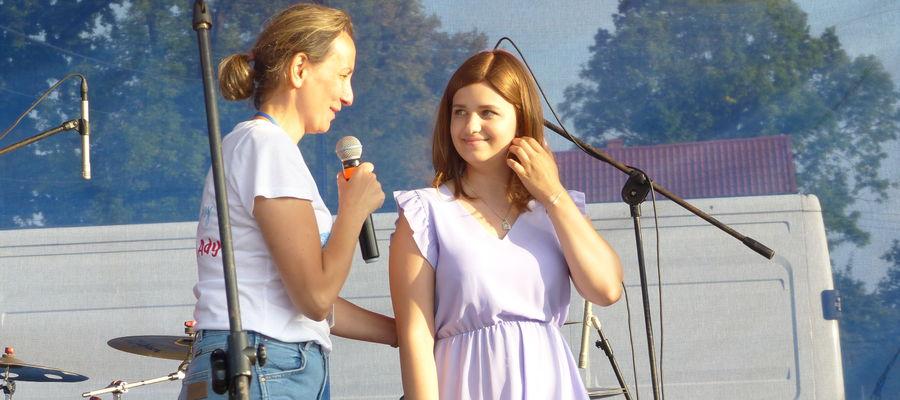 Od lewej: Małgorzata Tołstyko i Adrianna Niewiadomska