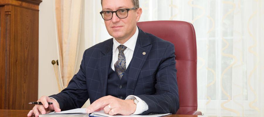 rektor UWM prof. Jerzy Przyborowski