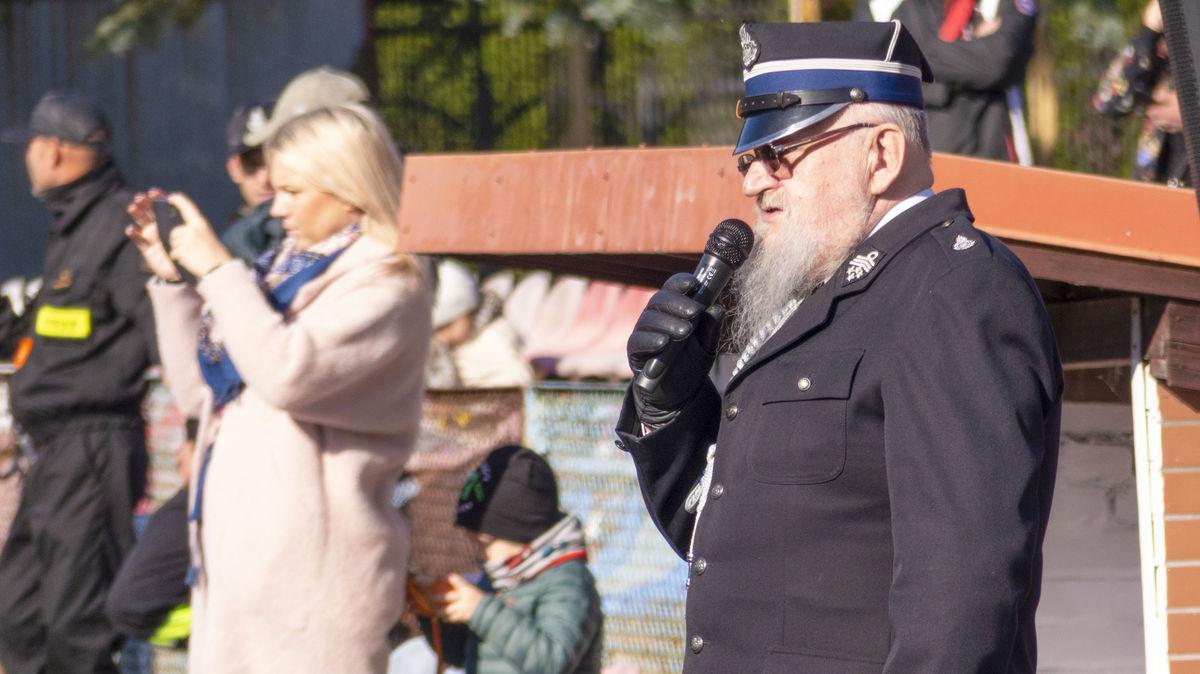 Zygmunt Zbigniew Pampuch, prezes Zarządu Oddziału Powiatowego OSP