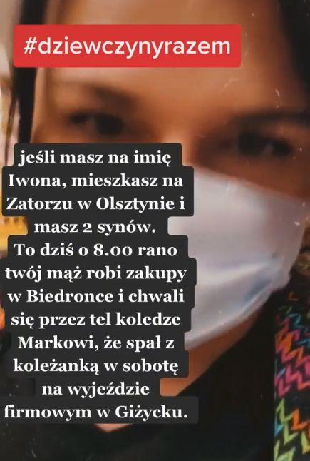 Wokalistka Sonia Michalczuk w poście zwróciła się do zdradzonej żony