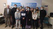 Uczniowie z Młynar odwiedzili redakcję Dziennika Elbląskiego